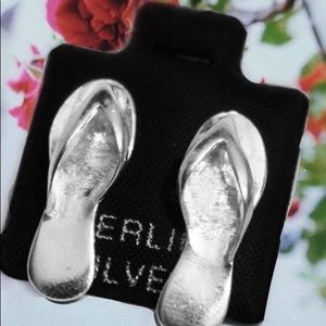 Jewelry - Sandals earring silver 925
